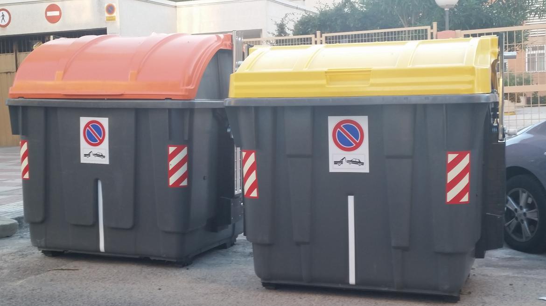 Contenedor residuos domésticos