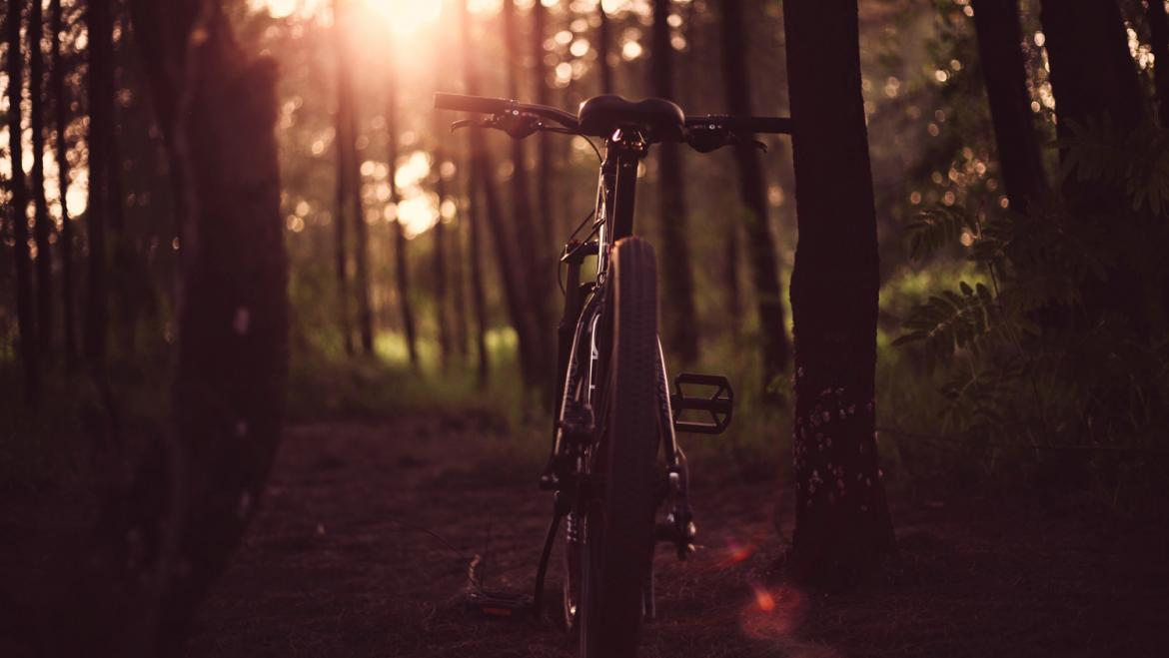Una bici en una ruta de CiclaMadrid