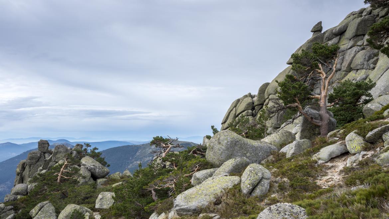 Siete Picos en el Parque Nacional de la Sierra de Guadarrama