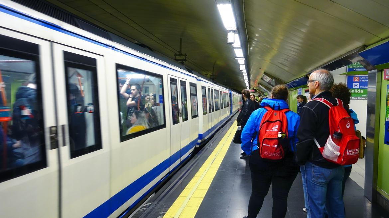 Los viajeros de Metro de Madrid aumentaron en julio un 4,62 % respecto al mismo mes de 2017