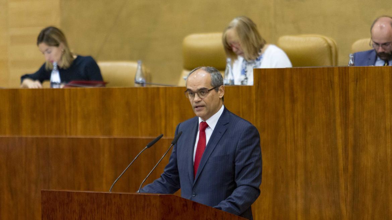 Van Grieken en la Asamblea
