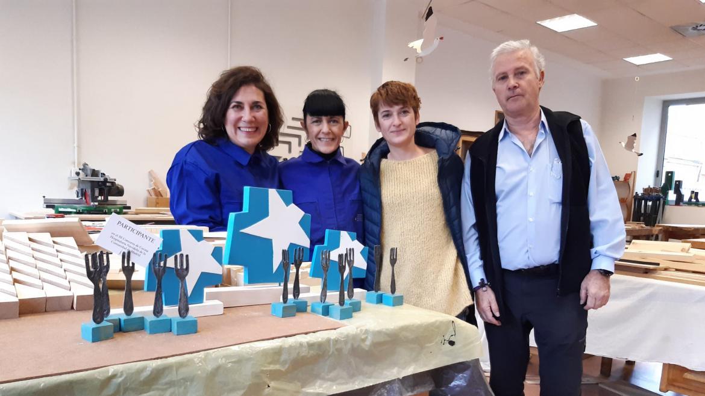 Pacientes del Instituto Psiquiátrico José Germain elaboran el trofeo 'Estrella Princesa'