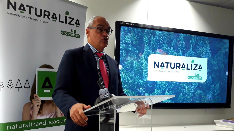 Rafael van Grieken en la presentación de los resultados del proyecto piloto