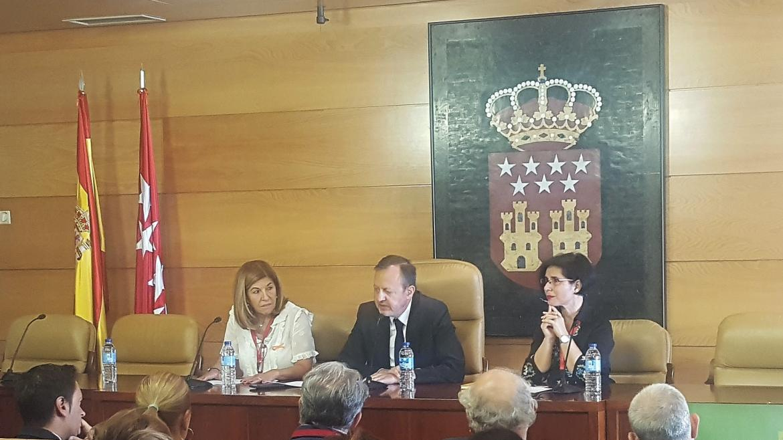 Alberto Reyero durante su intervención