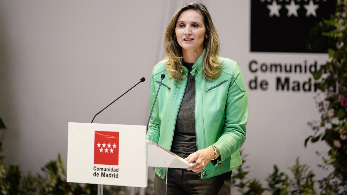La consejera de Medio Ambiente, Ordenación del Territorio y Sostenibilidad, Paloma Martín