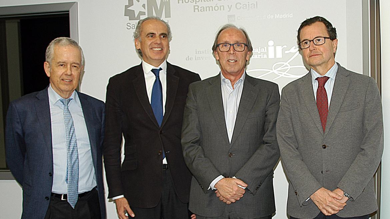 Enrique Ruiz Escudero en la clausura de la jornada de la Alianza para la Prevención del Cáncer de Colon