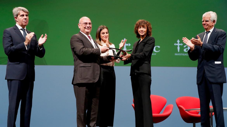 Garrido ha asistido a la entrega de las Ayudas a la Investigación en Cáncer AECC 2018 y los Galardones 'V de Vida' presidida por SM la Reina Letizia ©Casa Real
