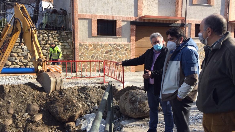 David Pérez ha visitado el antiguo Hotel de El Paular en Rascafría y ha reclamado su conversión en un Parador Nacional