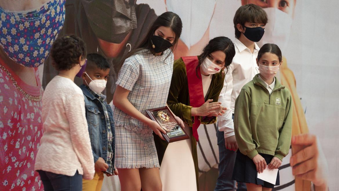 Díaz Ayuso, en la entrega de las condecoraciones por el 2 de mayo