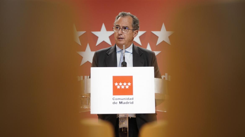 El consejero de Educación y Juventud, y portavoz del Gobierno, Enrique Ossorio