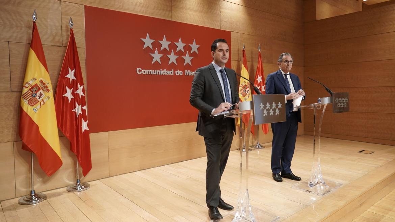 Ignacio Aguado y Enrique Ossorio