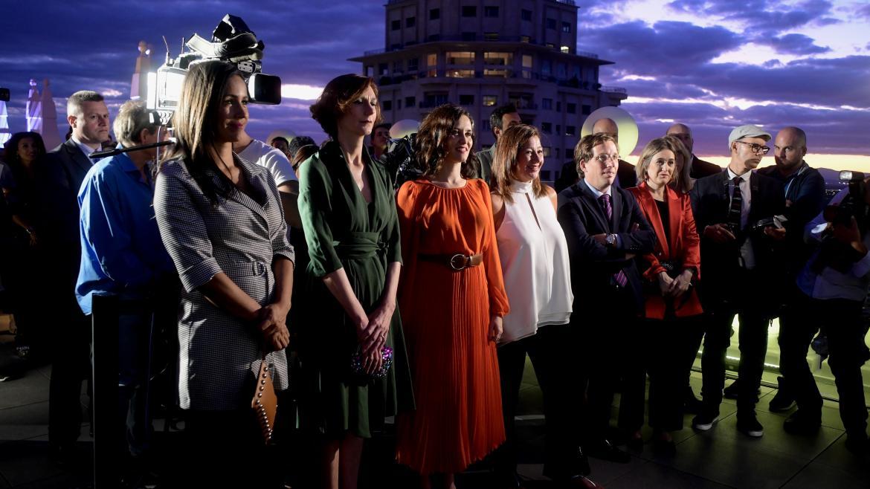 Isabel Díaz Ayuso en la inauguración del hotel RIU