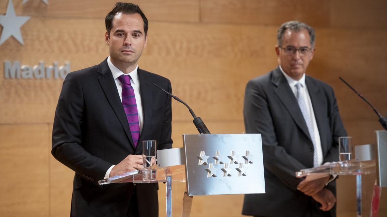 Imagen de la rueda de prensa posterior al Consejo de Gobierno