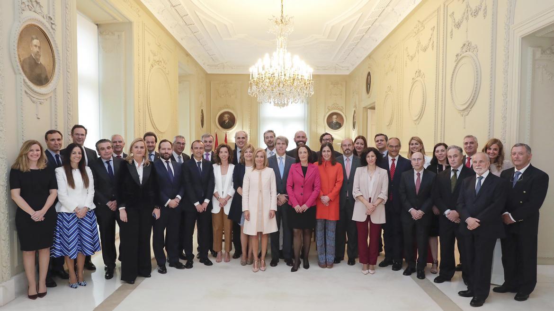 Los viceconsejeros y directores generales del nuevo Gobierno presidido por Ángel Garrido toman posesión