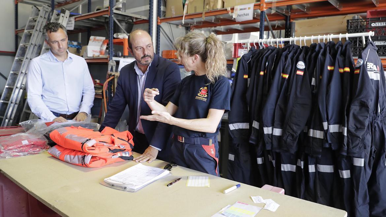 El equipo de Emergencia y Respuesta Inmediata lo integran principalmente bomberos y profesionales de SUMMA112 voluntarios