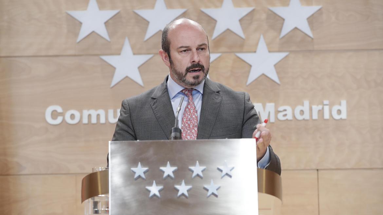 Pedro Rollán en el Consejo de Gobierno de la Comunidad de Madrid