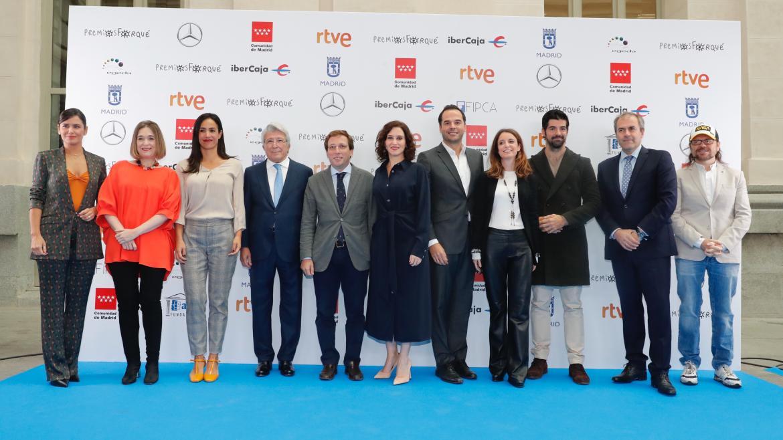 Isabel Díaz Ayuso en la ceremonia de presentación de los XXV Premios José María Forqué
