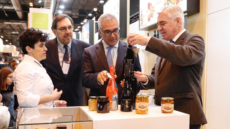 Carlos Izquierdo en la trigésimo tercera edición de el Salón Gourmets 2019
