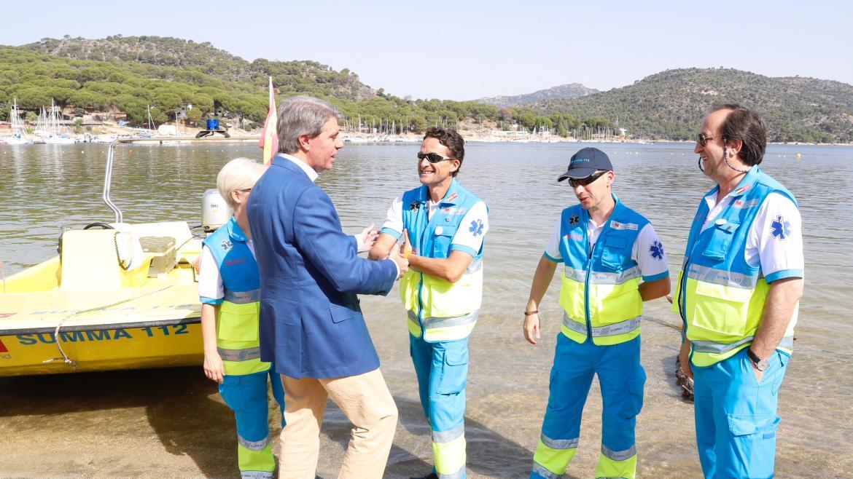 El presidente hace balance de actuaciones de la Agencia de Seguridad y Emergencias durante la primera parte de la campaña de verano