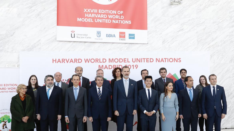 Garrido participa en la apertura de Harvard WorldMUN