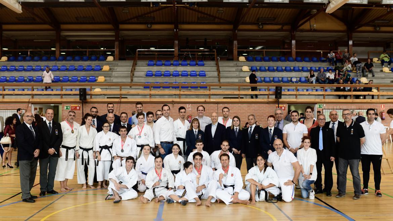 Ignacio Aguado en la segunda edición de los Juegos Parainclusivos de la Comunidad de Madrid