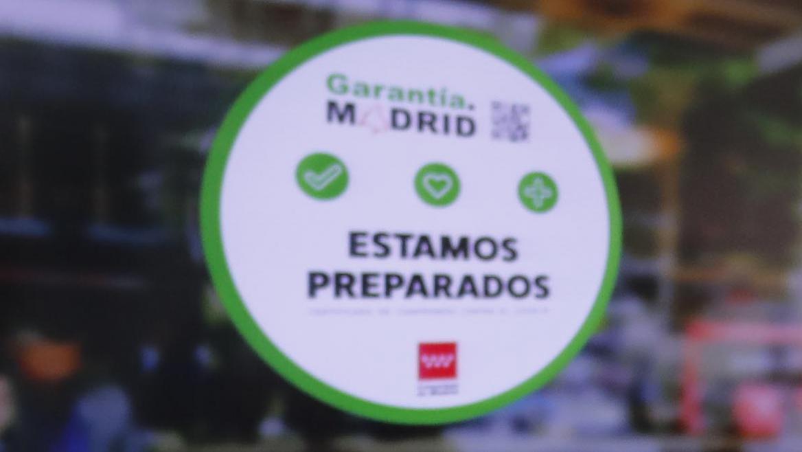 sello Garantía Madrid