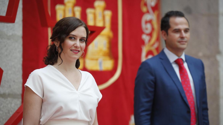 Isabel Díaz Ayuso e Ignacio Aguado hacen balance del primer año del Acuerdo de Gobierno