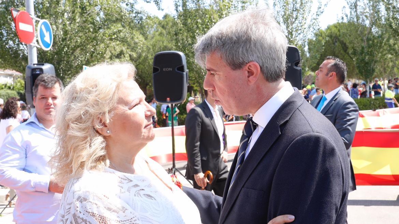 Ángeles Pedraza y Ángel Garrido