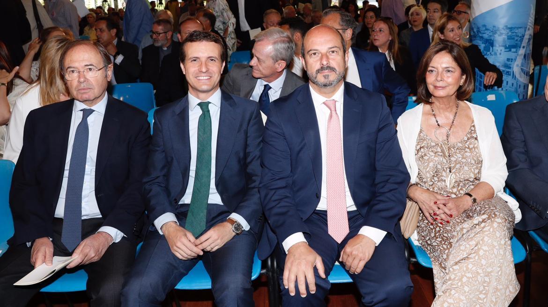 Rollán asiste al acto de entrega de las medallas de Madrid