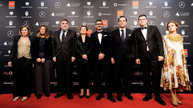 Ignacio Aguado asiste a la séptima edición de los Premios Feroz