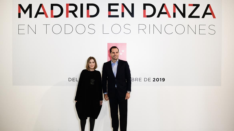 Ignacio Aguado ha asistido a la presentación de la 34ª edición del Festival Internacional Madrid en Danza