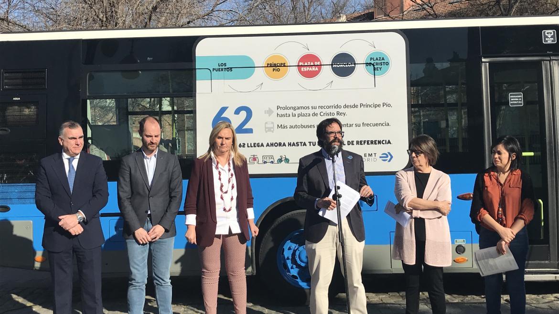 La Comunidad amplía el recorrido de tres líneas de la EMT para conectar con Ifema, la Fundación Jiménez Díaz y los nuevos desarrollos de Aravaca