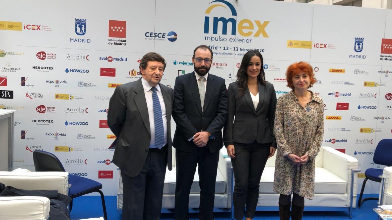 El consejero de Economía ha inaugurado la XVIII edición de IMEX Madrid