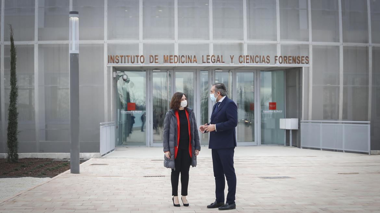 Díaz Ayuso inaugura el Instituto de Medicina Legal