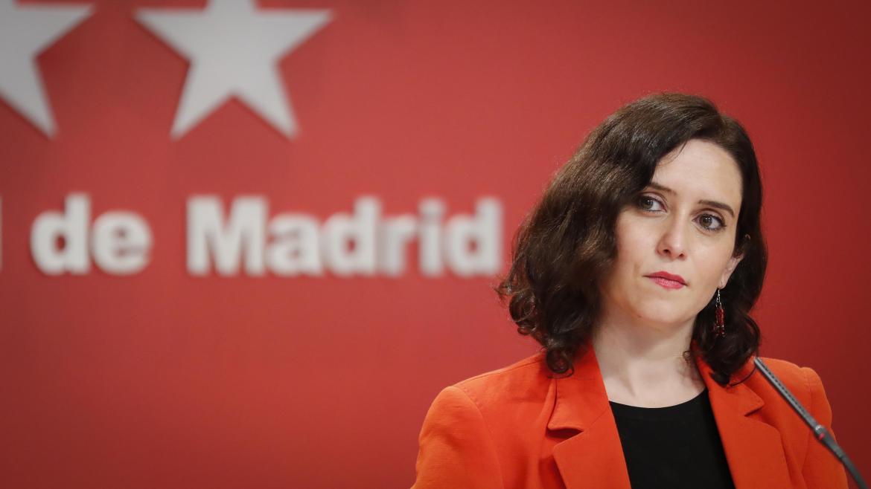 Díaz Ayuso anuncia ayudas de hasta 200.000 euros a sectores excluidos por  el Gobierno central | Comunidad de Madrid