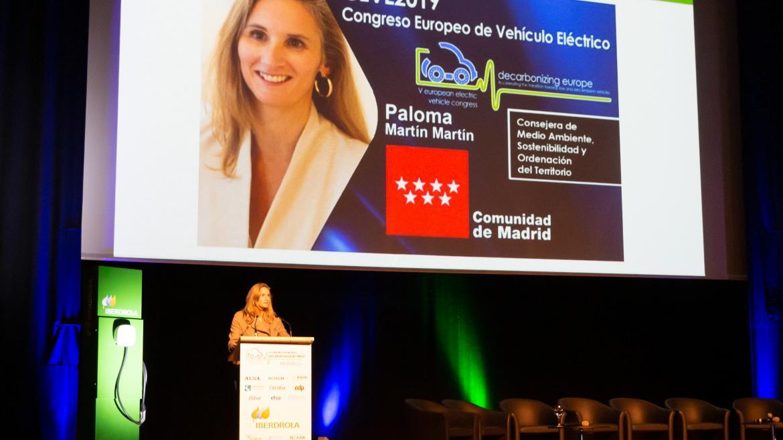 Paloma Martín inaugura la V edición del Congreso Europeo del Vehículo Eléctrico