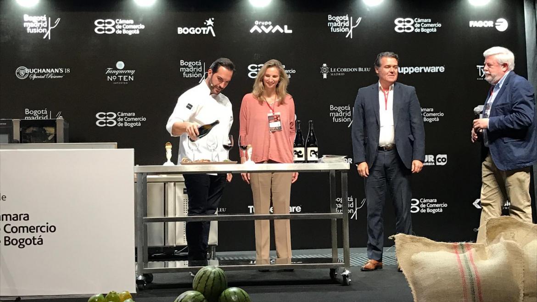 Paloma Martín en el I Congreso de Gastronomía Bogotá Madrid Fusión