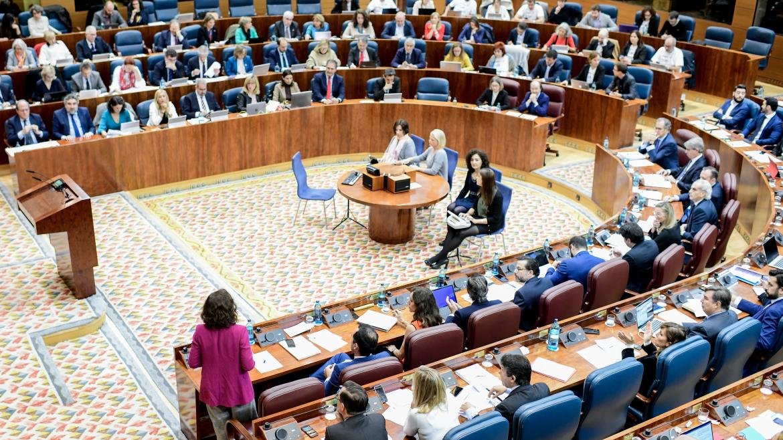 Diputados en la Asamblea de Madrid