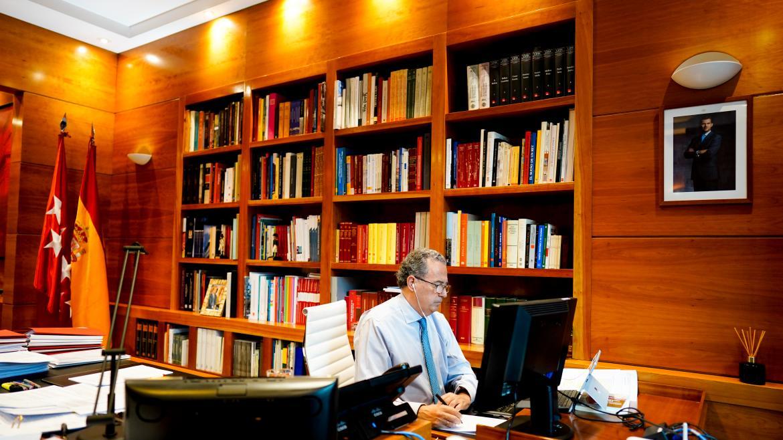 Enrique Ossorio videoconferencia despacho