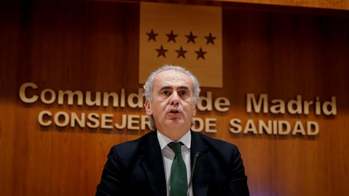 Ruiz Escudero en rueda de prensa