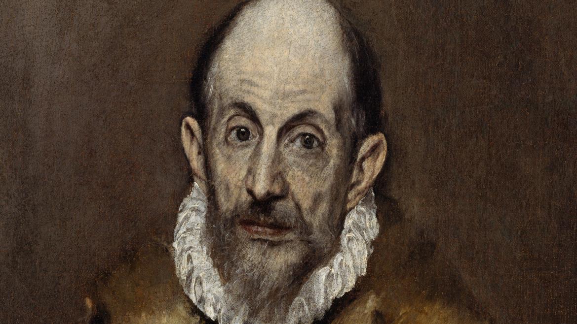 Retrato de un caballero anciano, El Greco