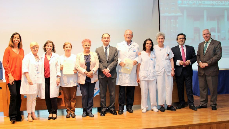 Acto celebrado en el Hospital Clínico San Carlos