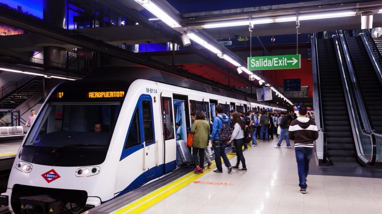 Metro aumentó en abril el número de viajeros un 5,72 % respecto al mismo mes de 2017