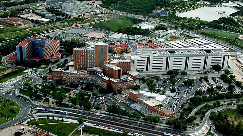 Vista aérea Hospital 12 de Octubre