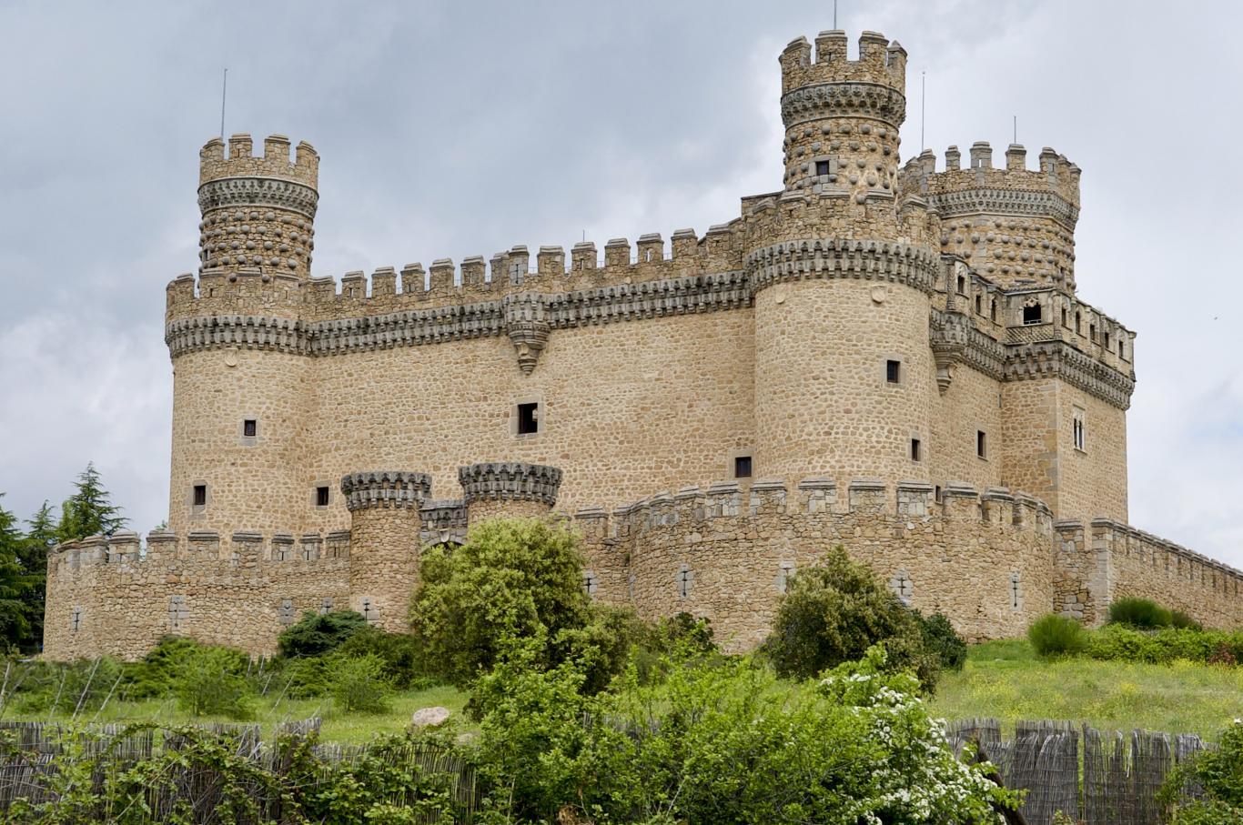 Castillo de Manzanares el Real de los Mendoza