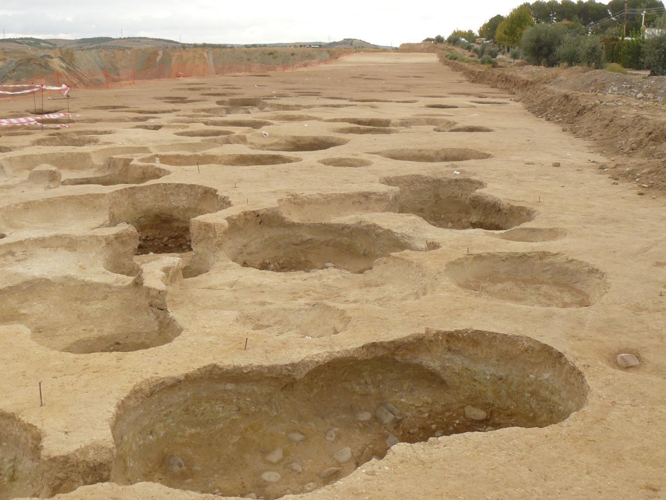 Imagen de panorámica de la excavación arqueológica