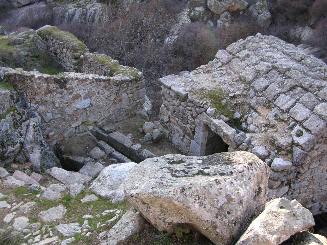 Imagen de algunas de las estructuras de El Grajal