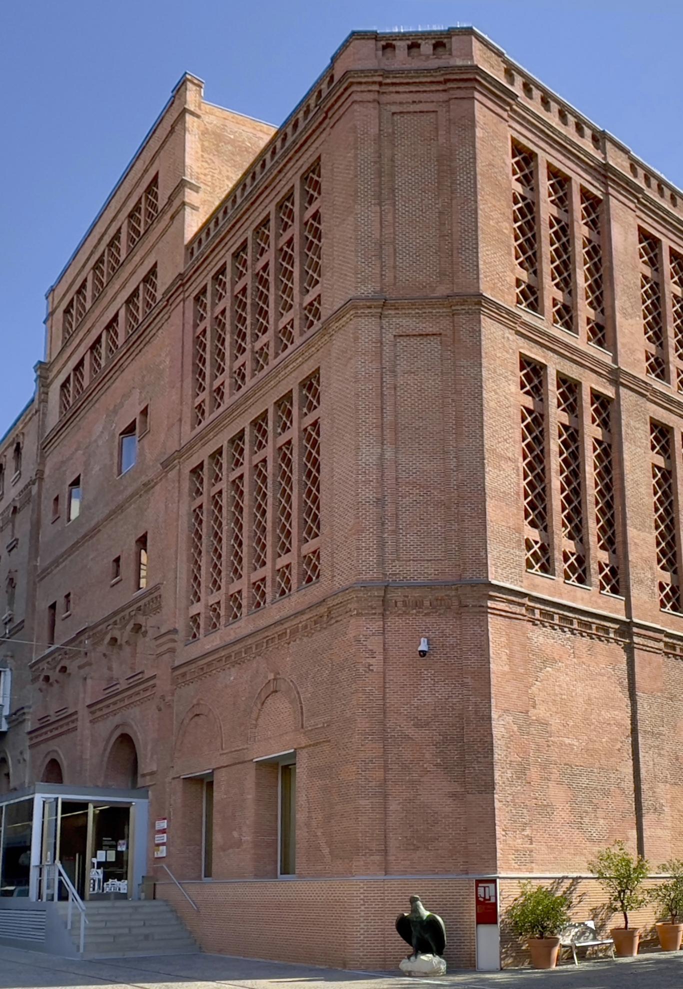Vista del Archivo Regional de la Comunidad de Madrid