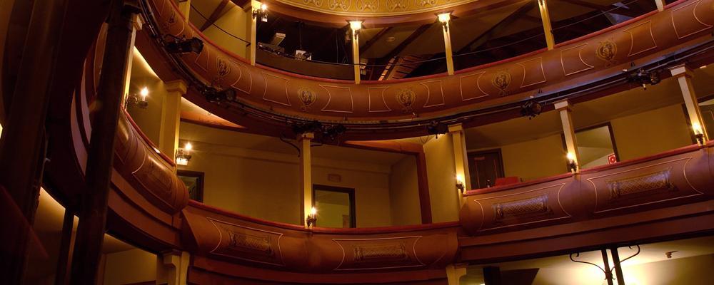 Teatro Corral de Comedias en Alcalá de Henares
