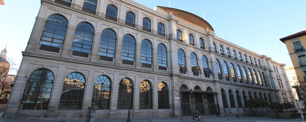 Fachada del Real Conservatorio Superior de Música de Madrid